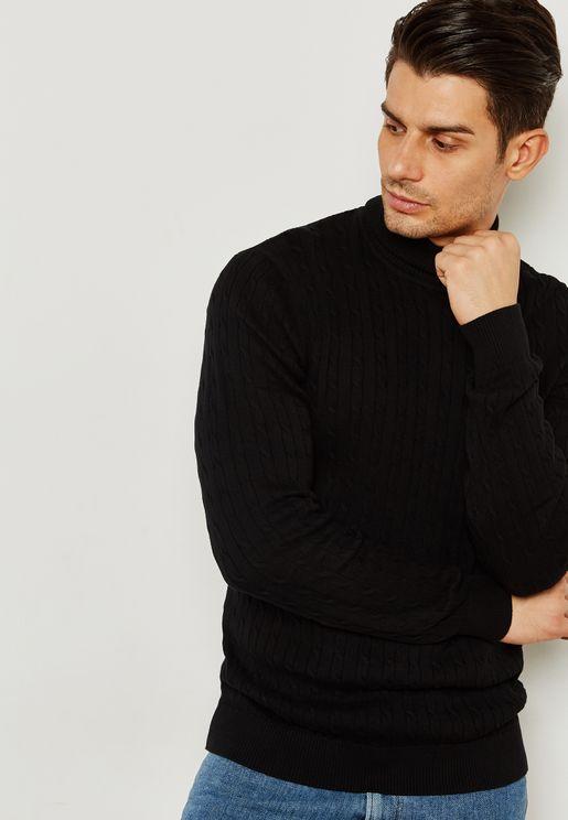 Clayton Roll Neck  Sweater