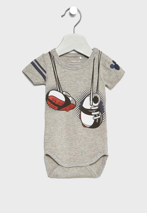 Infant Slogan Bodysuit