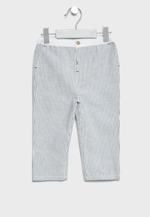 Infant Striped Pants