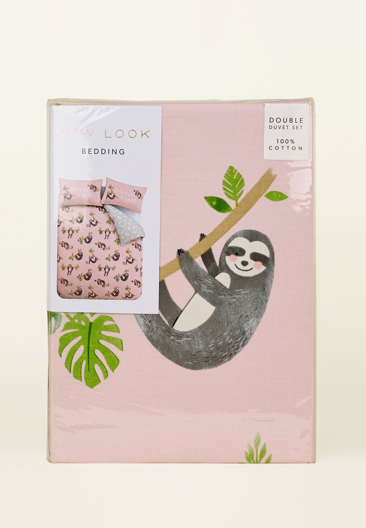 Double Bed Set - Sloth