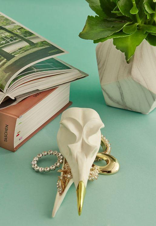 Bird Skull Tidy Jewellery Keeper