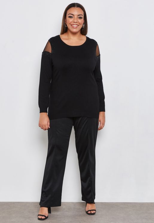 574450b76c539 Plus Size Pants and Leggings for Women