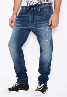 Diesel Narrot Carrot Fit Dark Wash Jeans