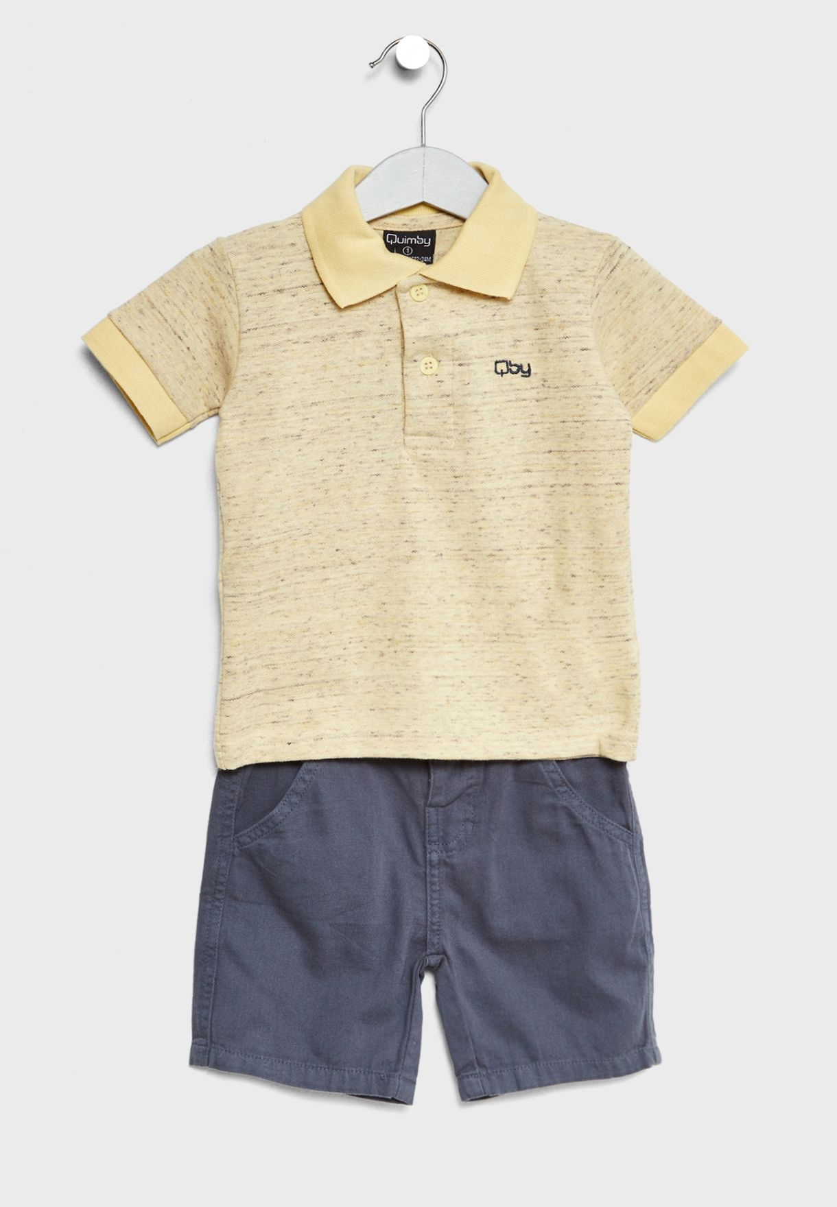 Little Polo + Shorts Set