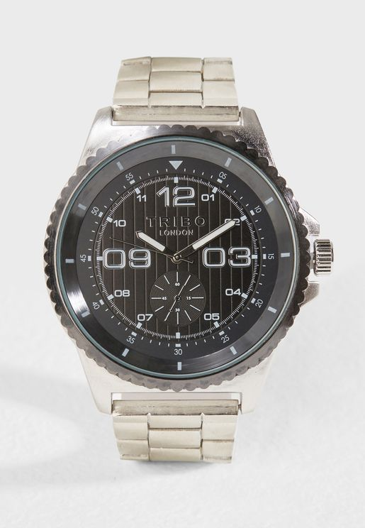 Metal Strap Formal Watch