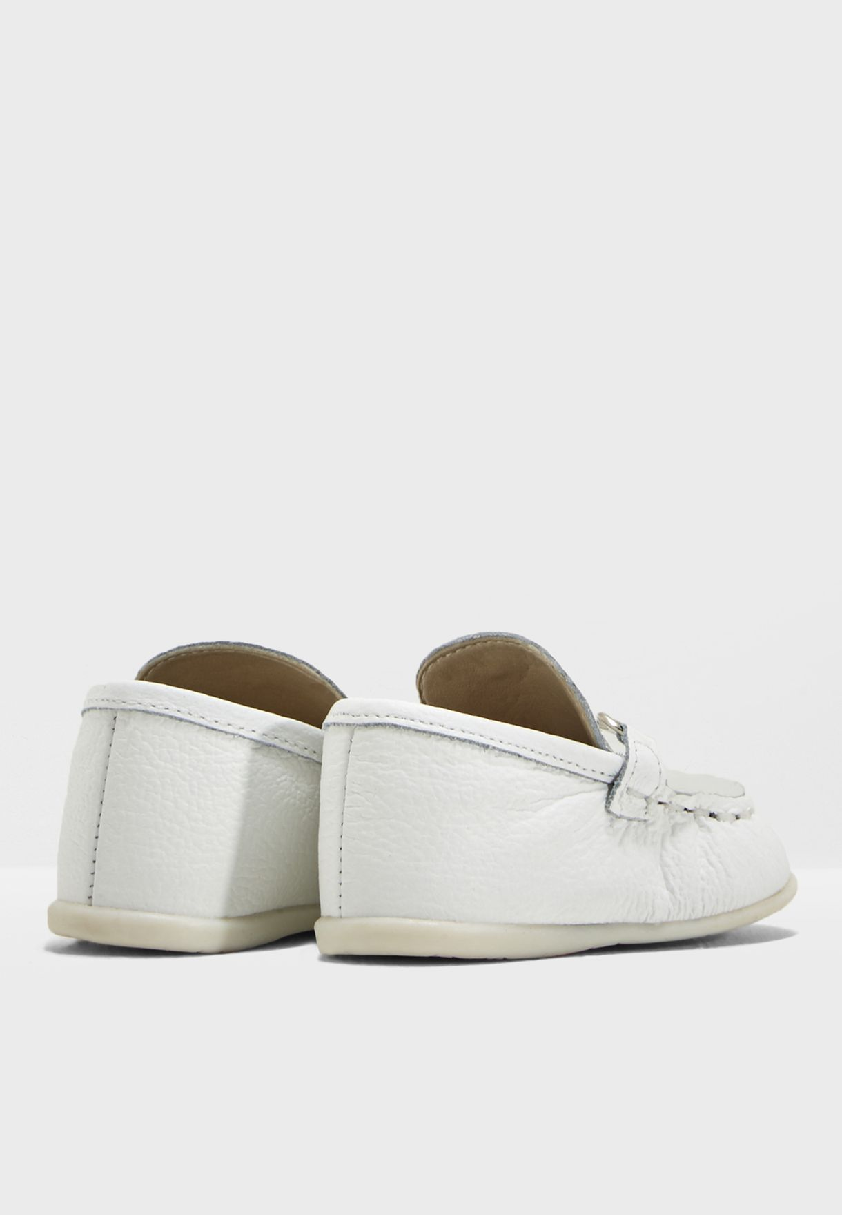 Infant Metallic Buckle Slip On
