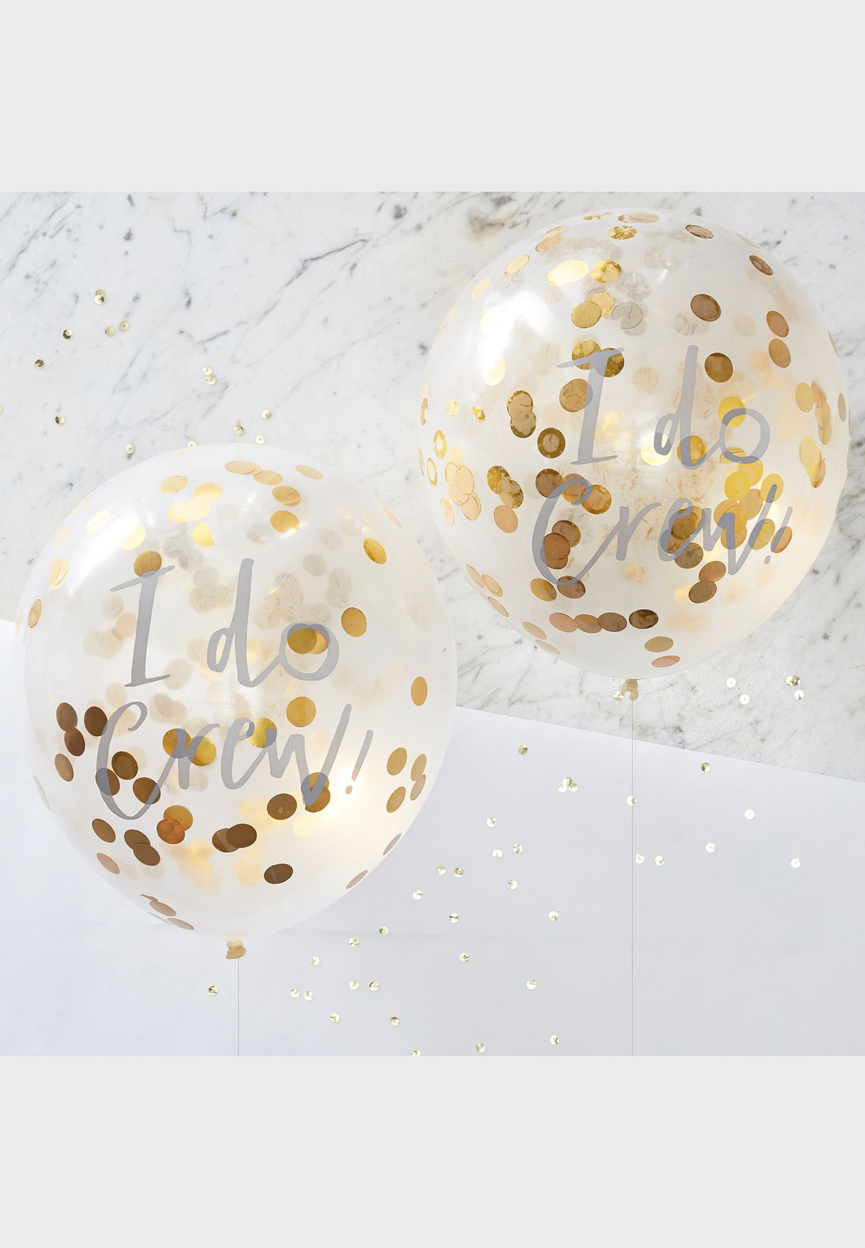 "12"" I Do Confetti Balloon"