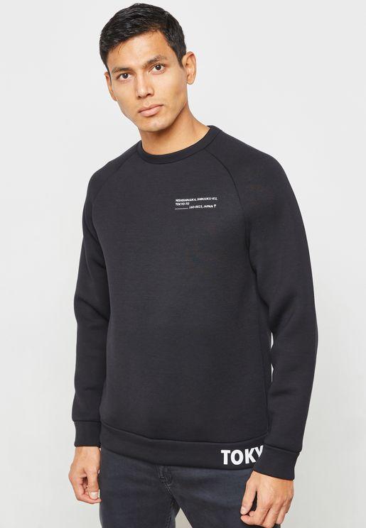 Don Scuba Raglan Sweatshirt