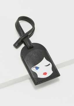 Doll Face Luggage Tag