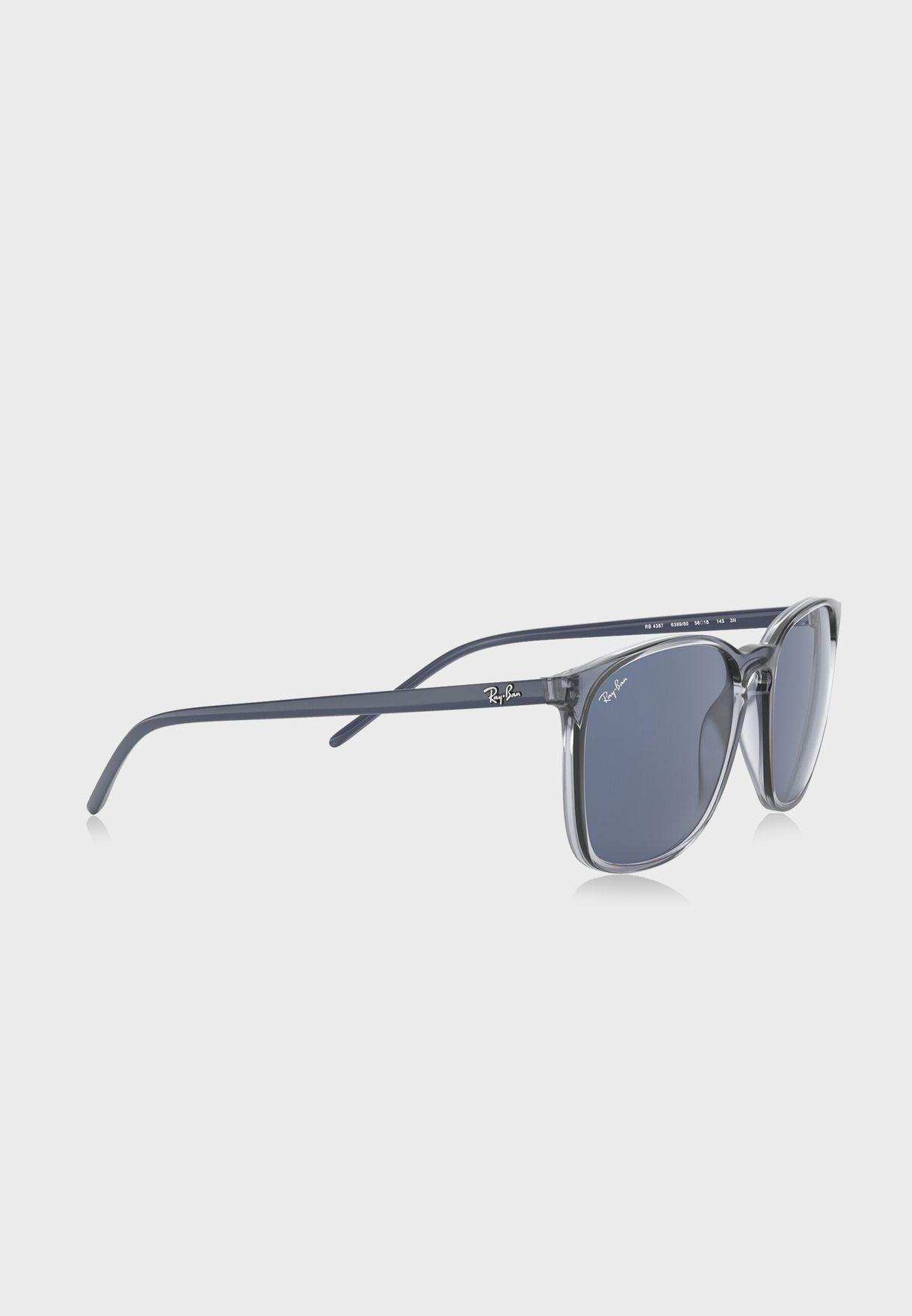 نظارة شمسية مربعة 0RB4387