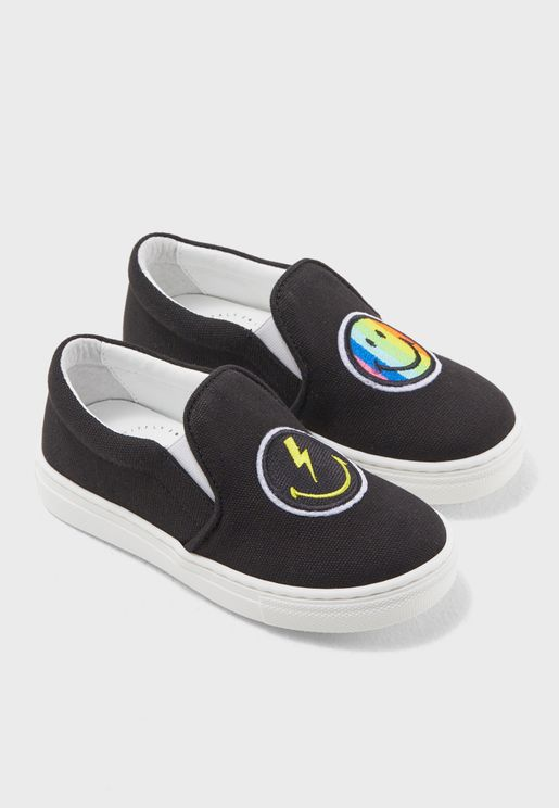 Youth Rainbow Slip On