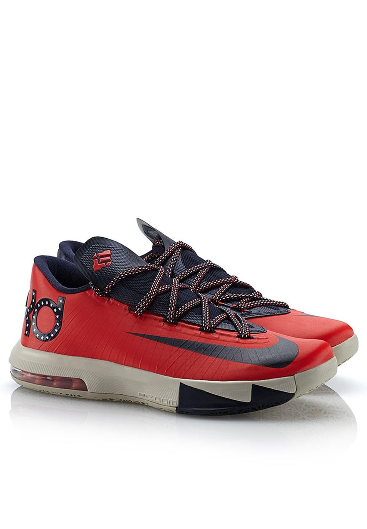 5393af31ad5 Shop Nike red KD VI 599424-600 for Men in UAE - NI727SH21QMW