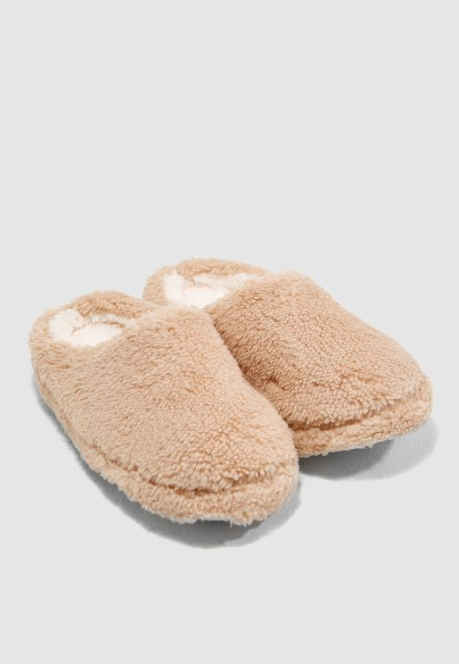 Fleece bedroom Slipper