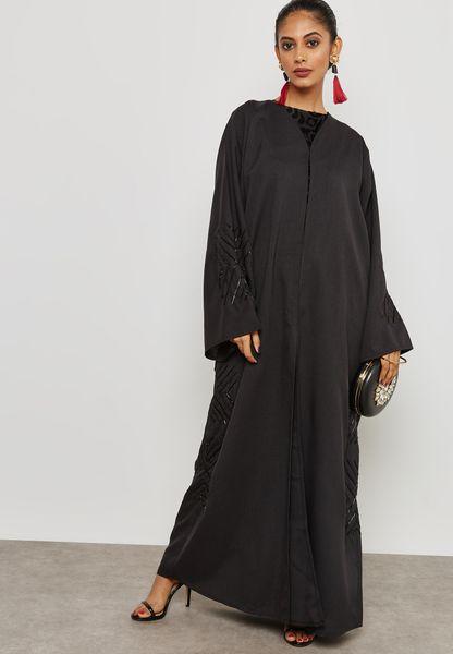 Beaded Detail Abaya