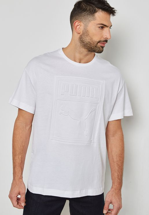 Archive Embossed Print T-Shirt