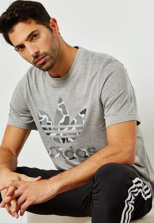Camo Trefoil T-Shirt