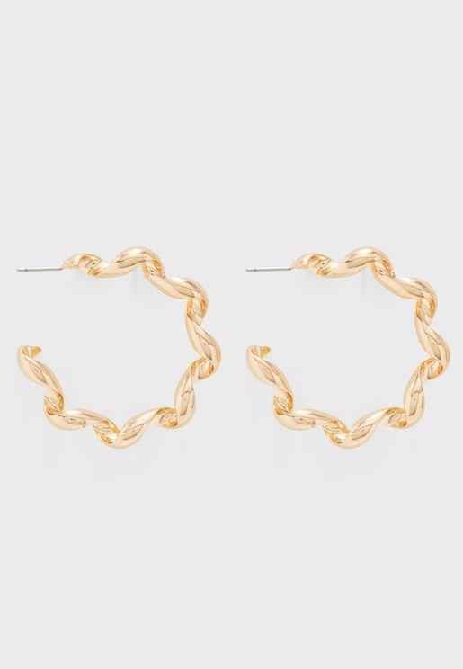 Kanika Hoop Earrings