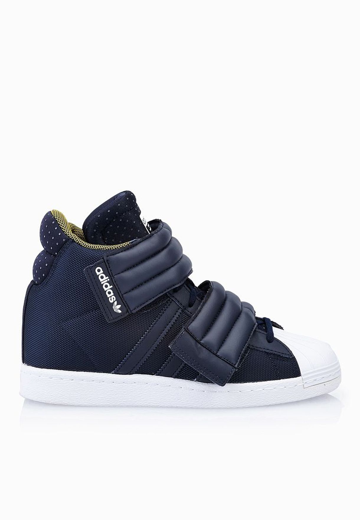 hot sales fe55b e49a6 ... rita ora superstar up 2 strap sneakers shoes s82794 04181 29d5a  ebay  shop adidas originals blue superstar up 2strap sneakers s82794 for women in  uae ...
