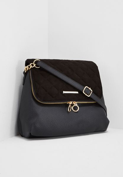 Quilted Glam Crossbody