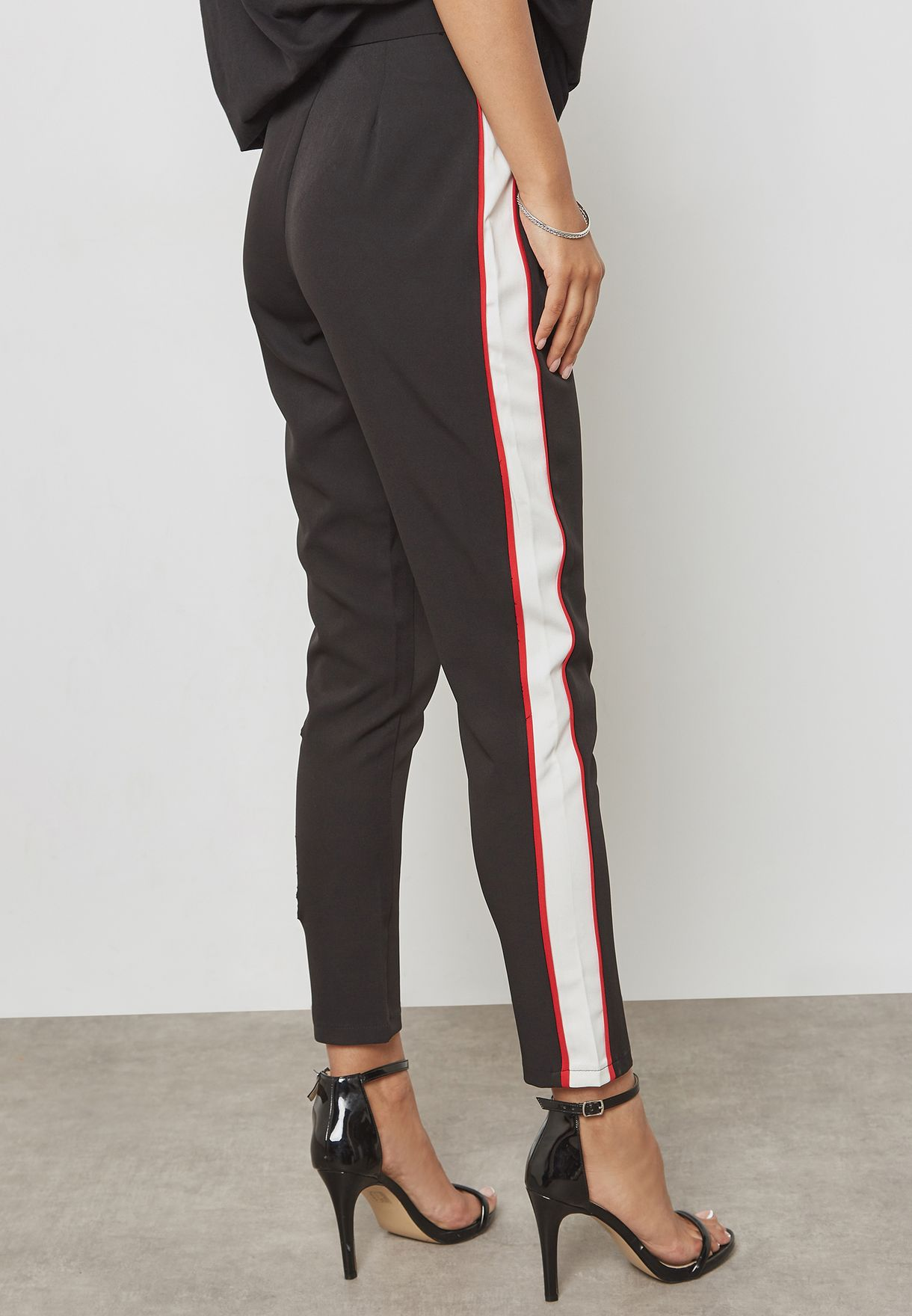 Crepe Cigarette Trousers