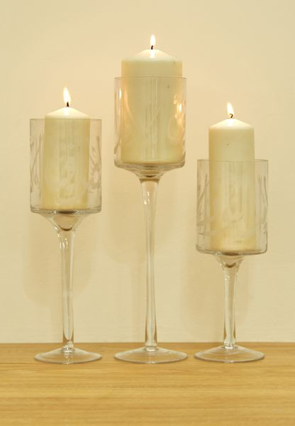 3 Pack Diwani Candle Holders