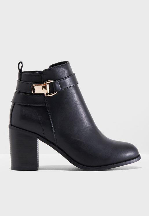 Bino Heeled Booties