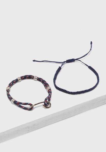 2 Pack Mixed Bracelets