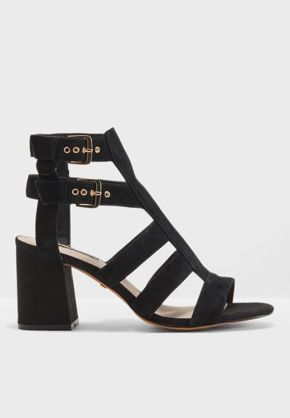 Nia Buckle Mid Sandals