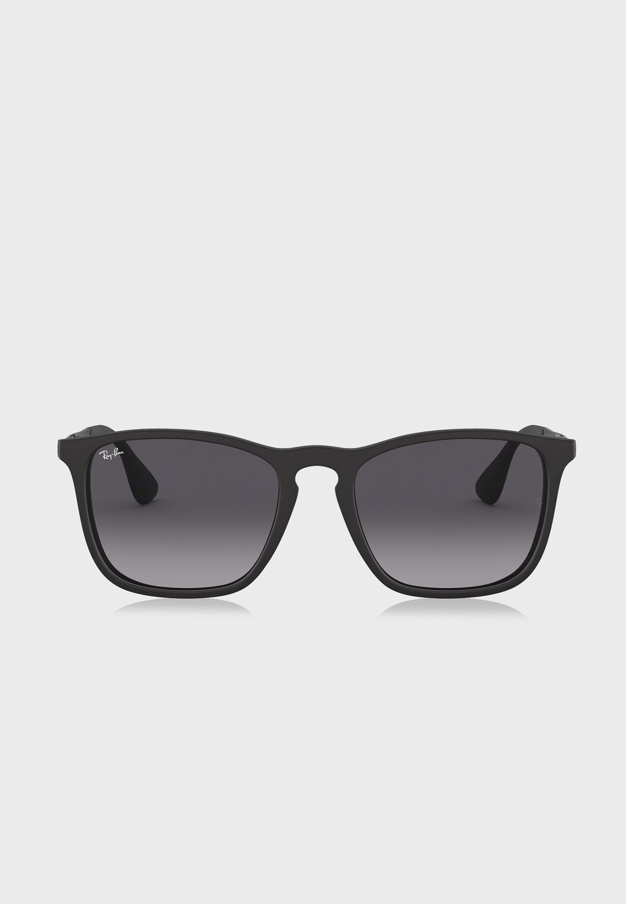 6ba021f6571 Shop Ray-Ban black 0RB4187 Chris Sunglasses 713132581124 for Men in ...