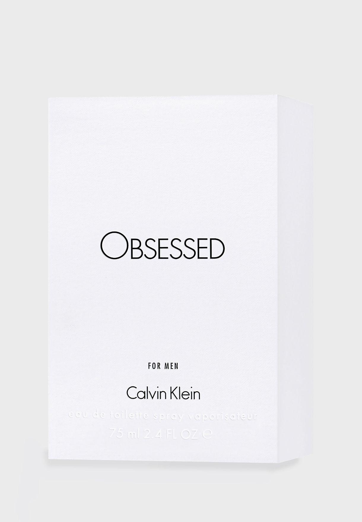 Obsessed For Men Eau De Parfum 75 ml