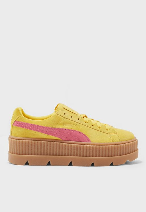 حذاء شامواه من مجموعة بوما فنتي