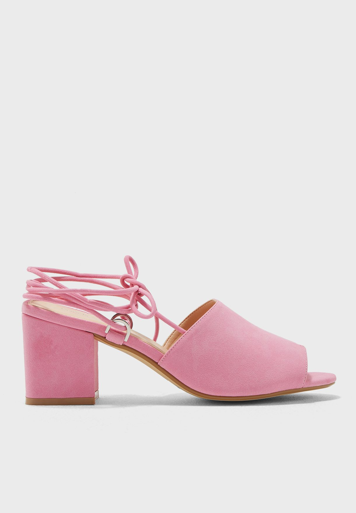 9bb9dc197a04 Shop Public Desire pink Paddington Low-Heel Sandals PADDINGTON for ...