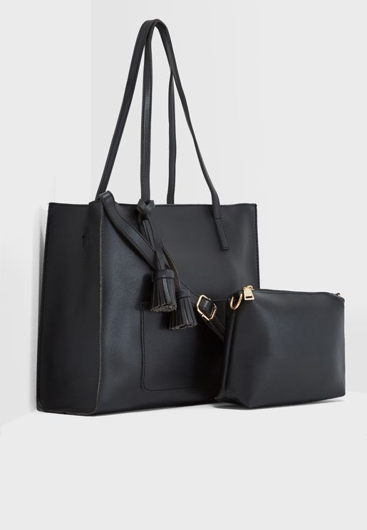 Tassel Detail Shopper