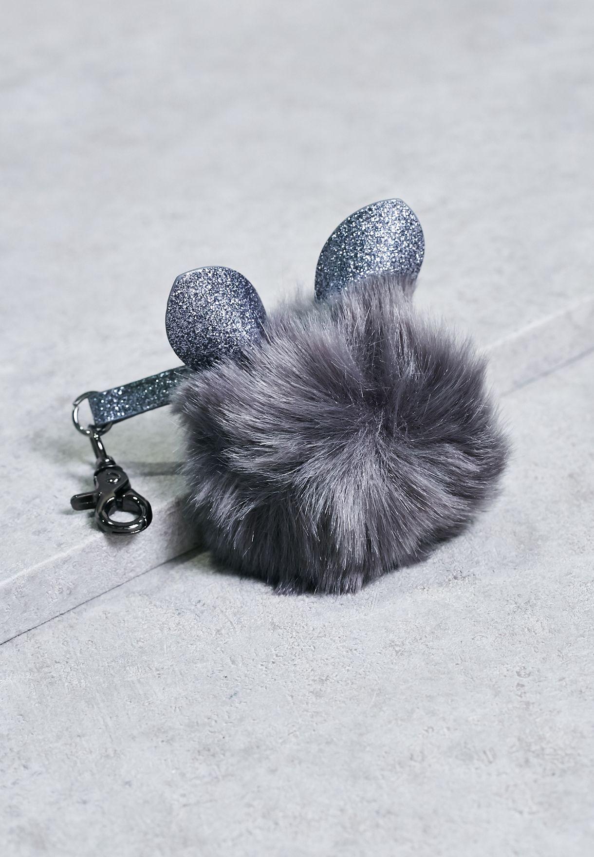 Shop New Look grey Glitter Cat Faux Fur Pom Keyring 387508004 for Women in  Qatar - NE767AC11TCE 8c5cbde4ce