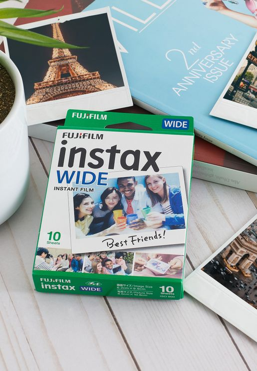 2 Pack Instax Wide Film