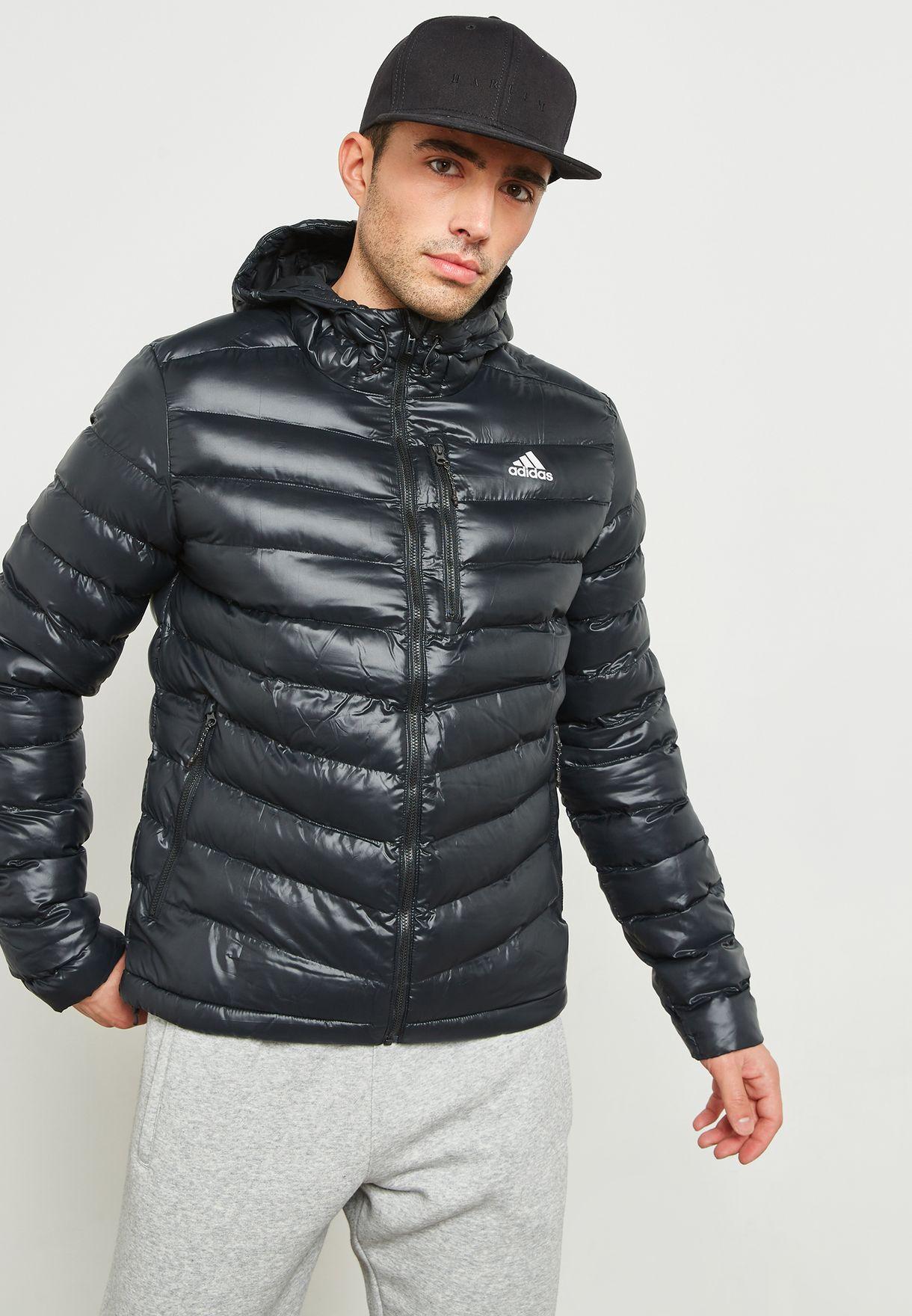 59e5fda6b9cd Shop adidas black Cytins Padded Jacket DM7775 for Men in Saudi ...