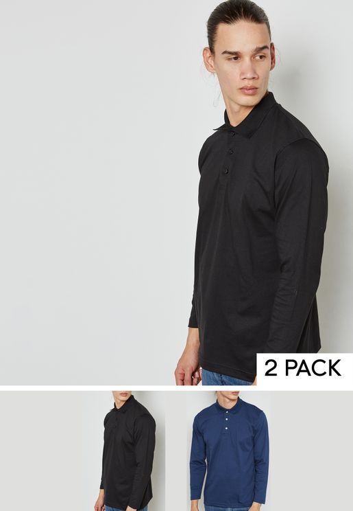 2 Pack Jersey Polo