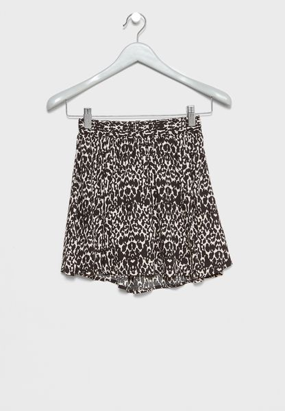 Teen Printed Skirt