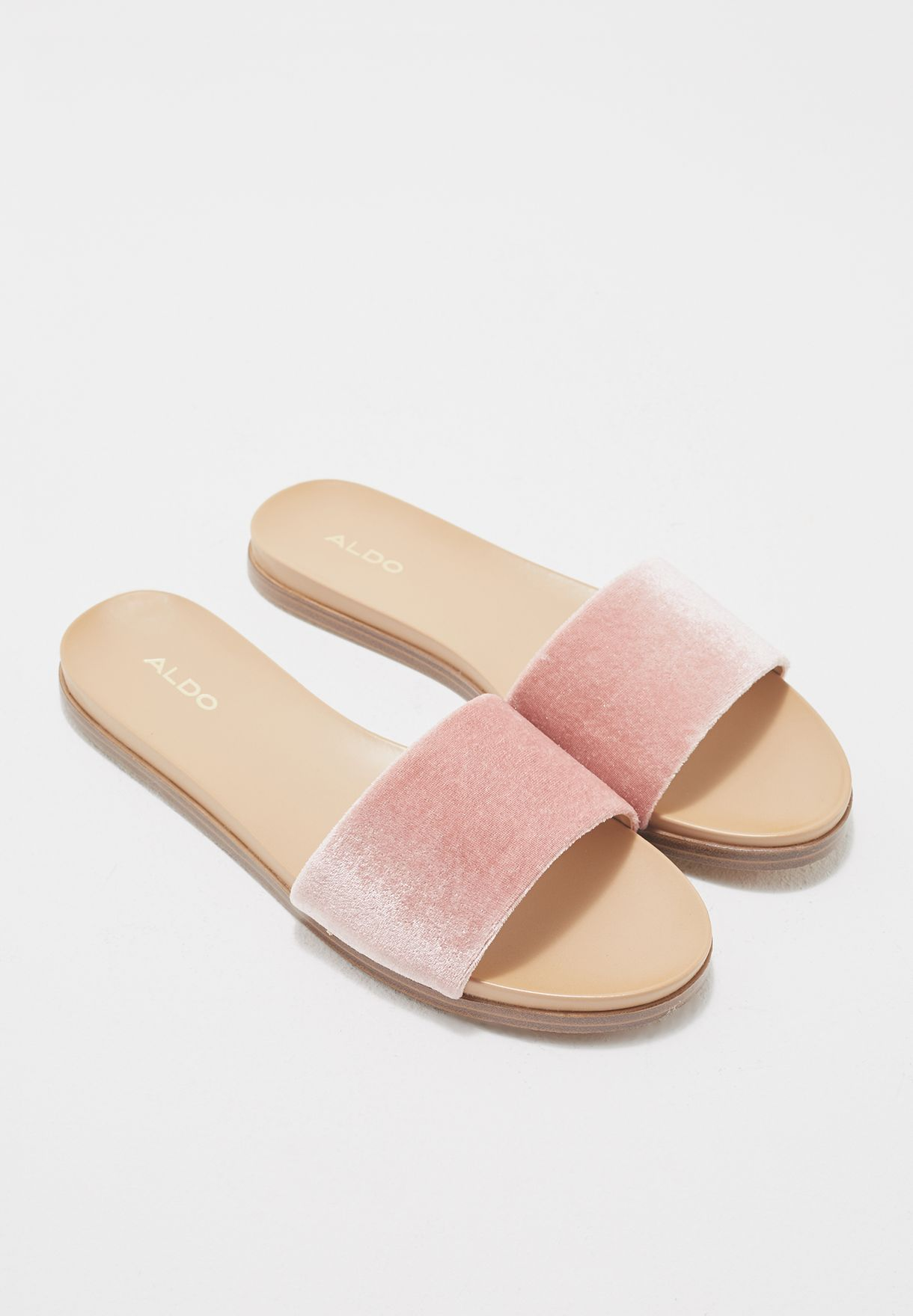17f3f0b85b9 Shop Aldo pink Fabrizzia Slide FABRIZZIA U56 for Women in Oman -  AL729SH11DFO