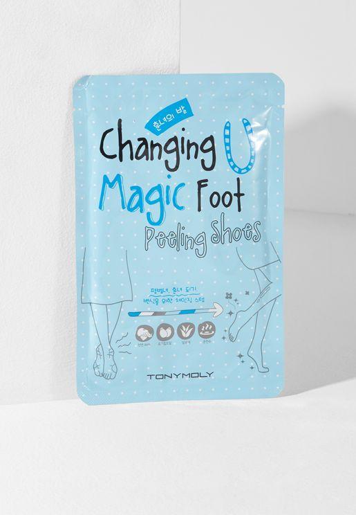 Changing U Magic Foot Peeling Shoes