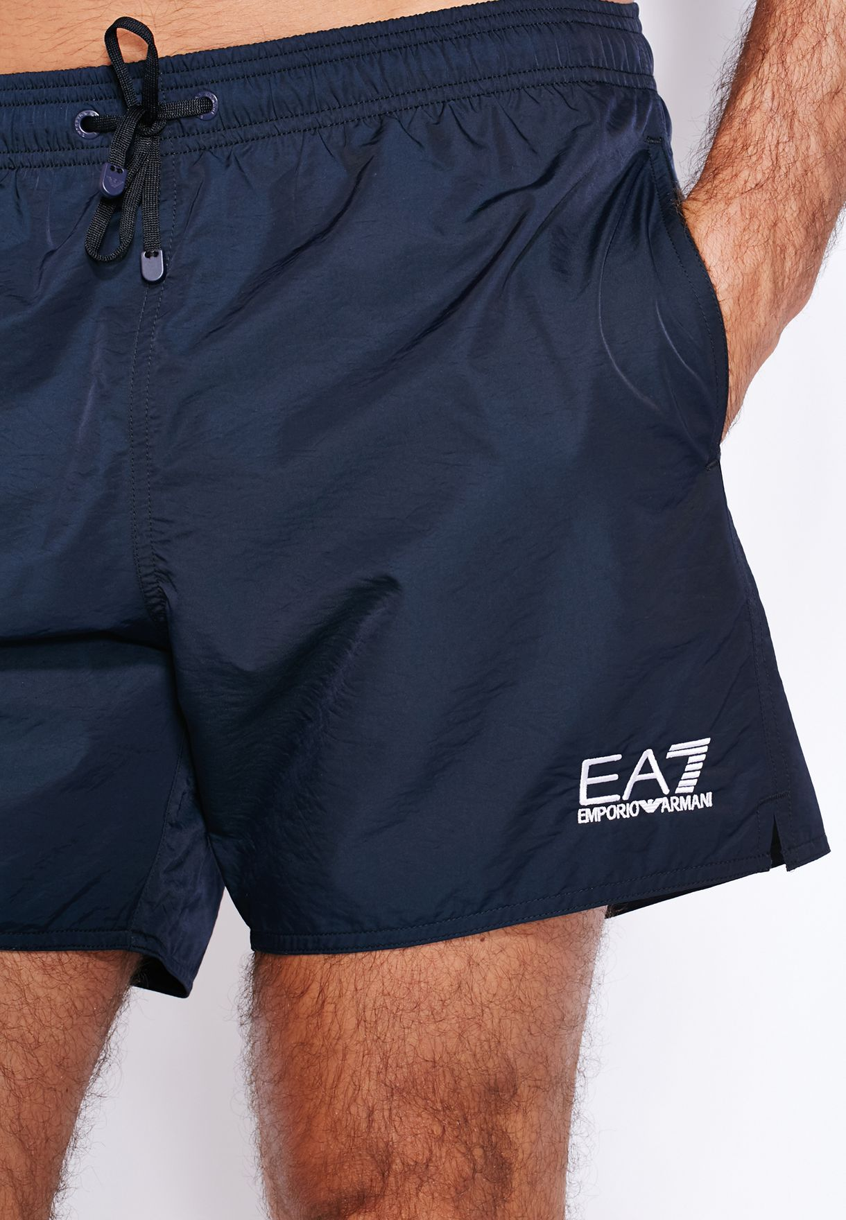 7462a779e11f6 Shop Ea7 Emporio Armani blue Sea World Boxers 902000 for Men in UAE ...
