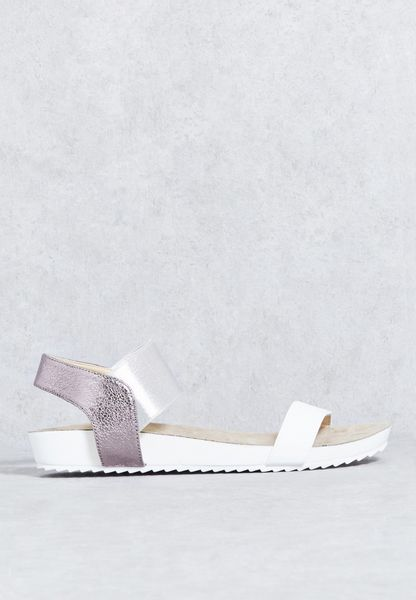 Two Bar Elastic Sandal