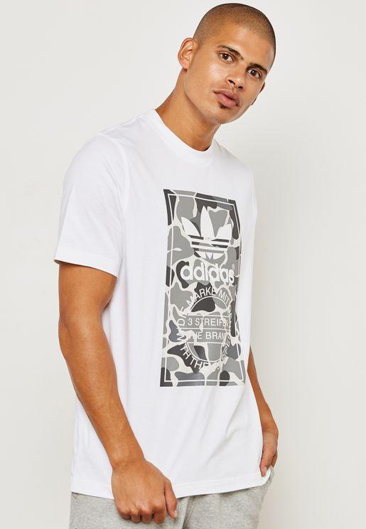 Camo Label T-Shirt