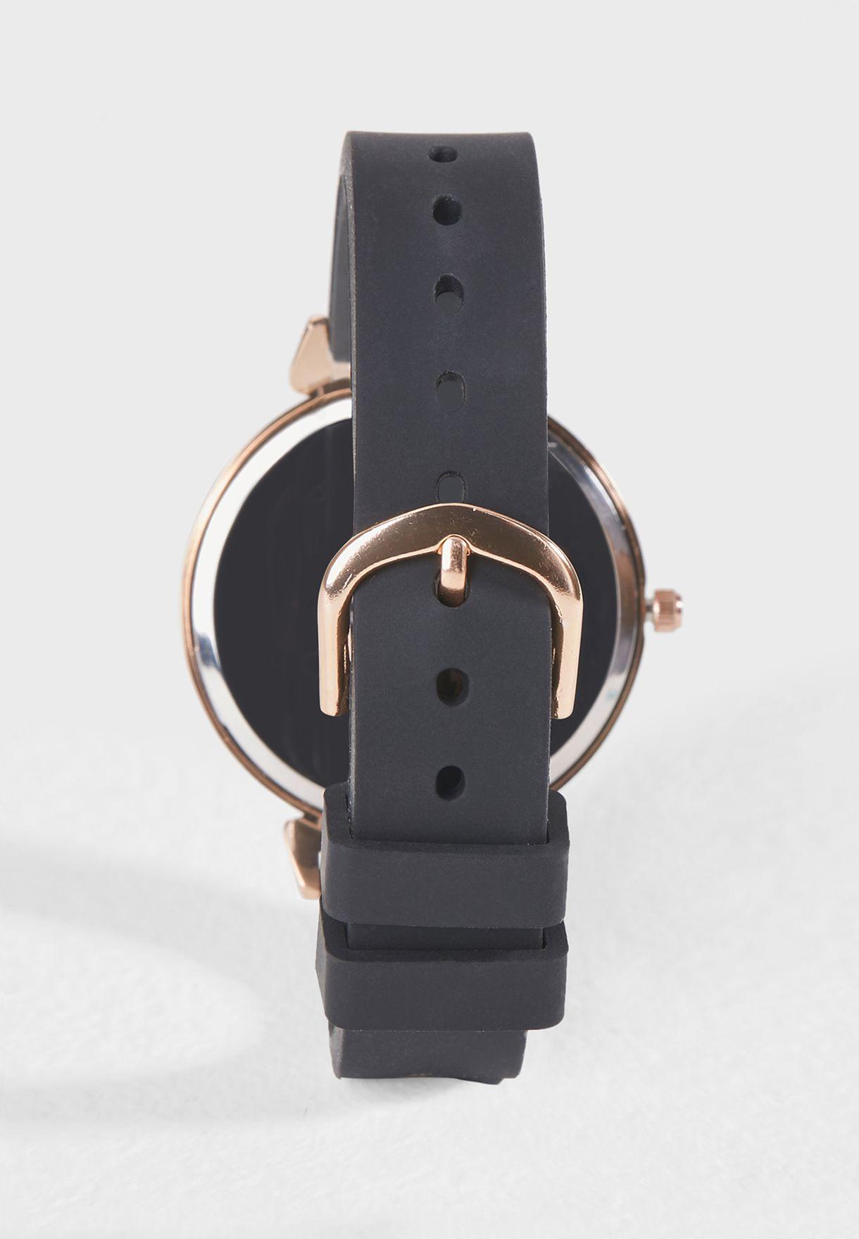 Sleek Silicone Watch