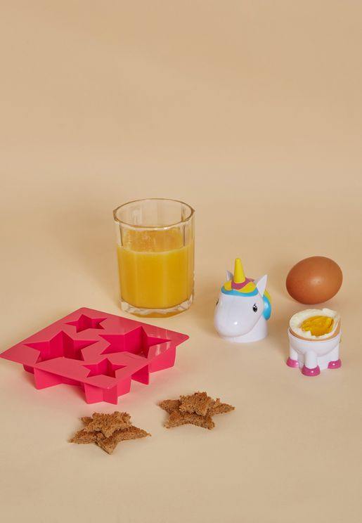 Unicorn Egg Cup & Toast Cutter