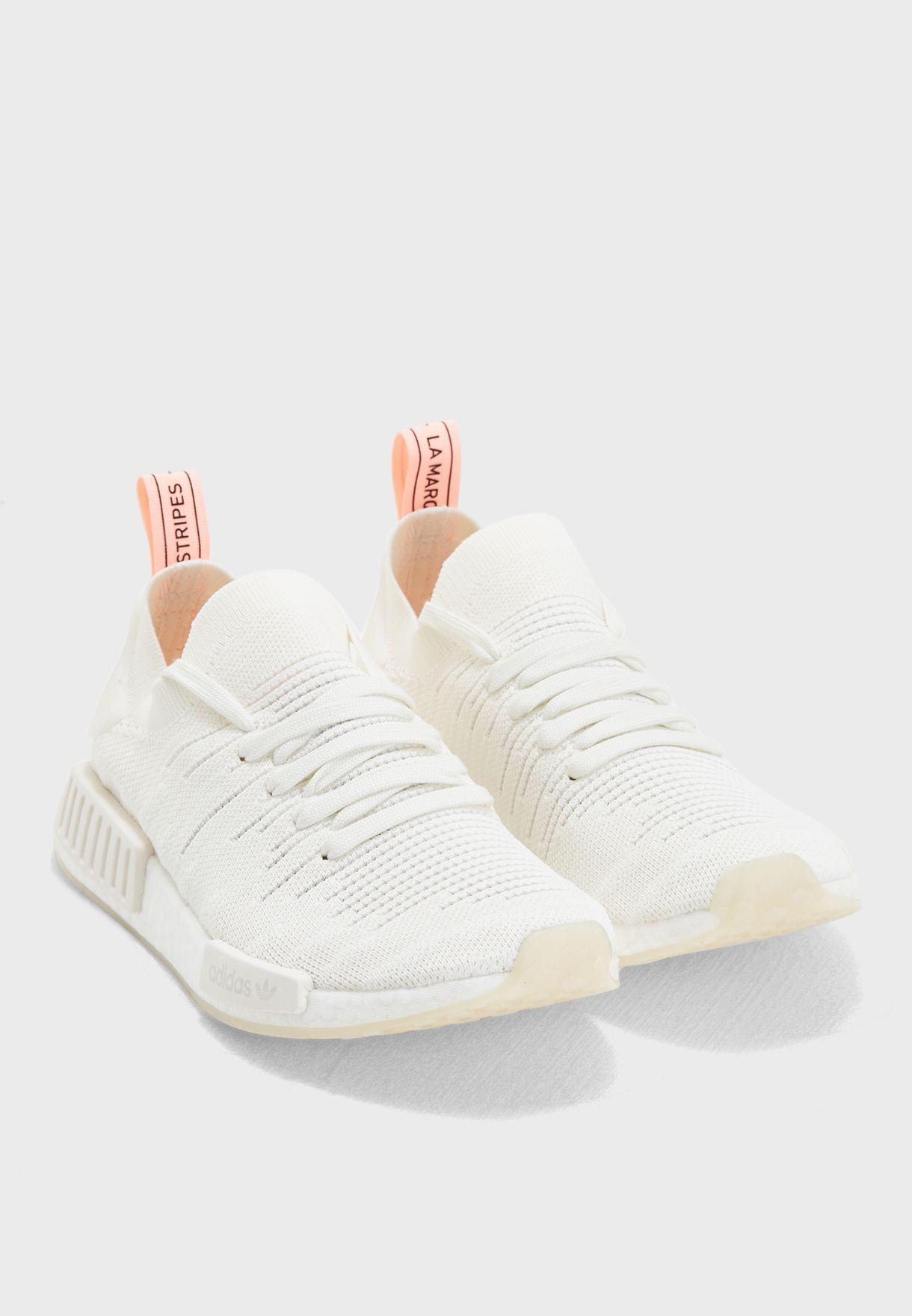 c8fc82b18 Shop adidas Originals white NMD R1 STLT PK B37655 for Women in UAE ...