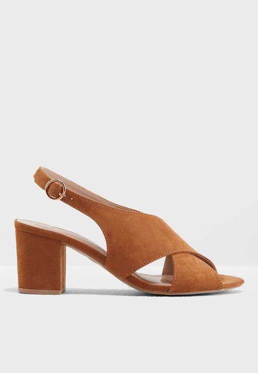 Simone Heeled Sandals