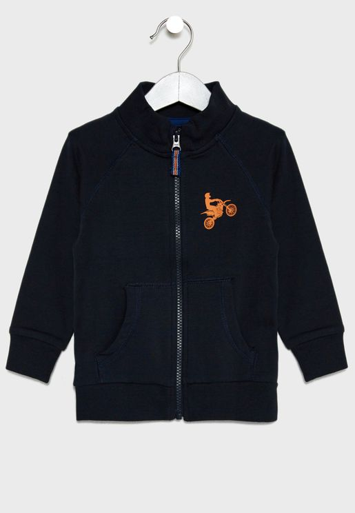 Infant Zip Detail Jacket