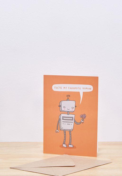 Favourite Human Card