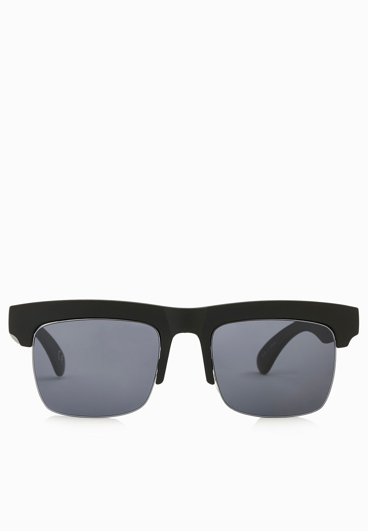 80692c7de9 Shop Jeepers Peepers black Square Cut Clubmaster Sunglasses for Men in  Qatar - JE122AC11UVO